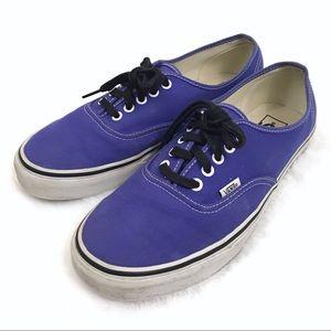 VANS • Authentic Purple Lace Up Skate Shoes
